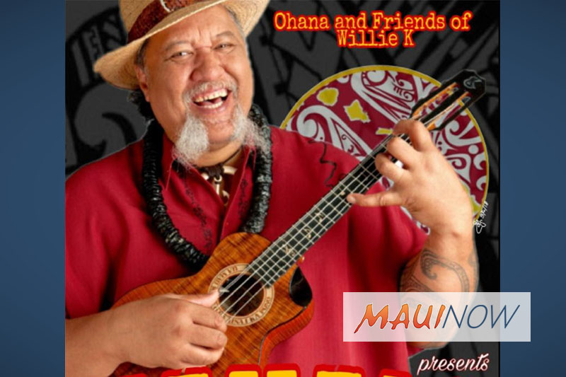 Mahalo Uncle Willie K Star-Studded Benefit Concert, April 21