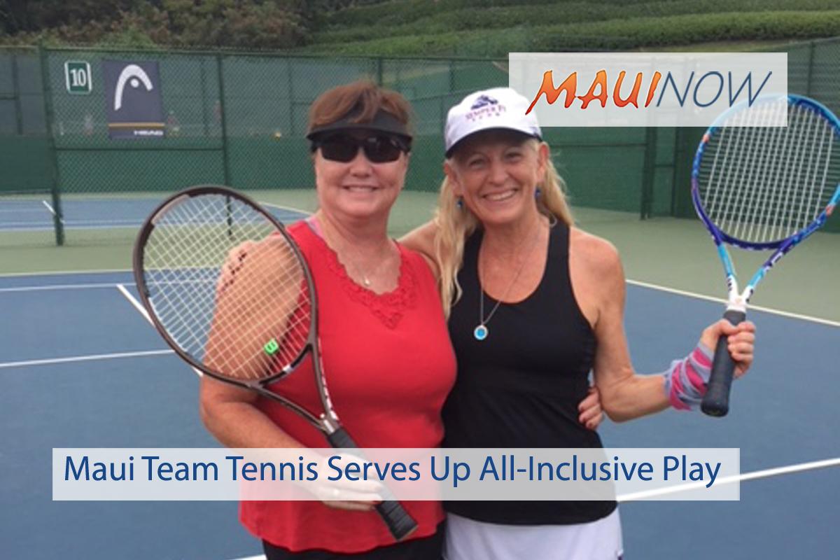 Maui Team Tennis Serves Up All-Inclusive Play