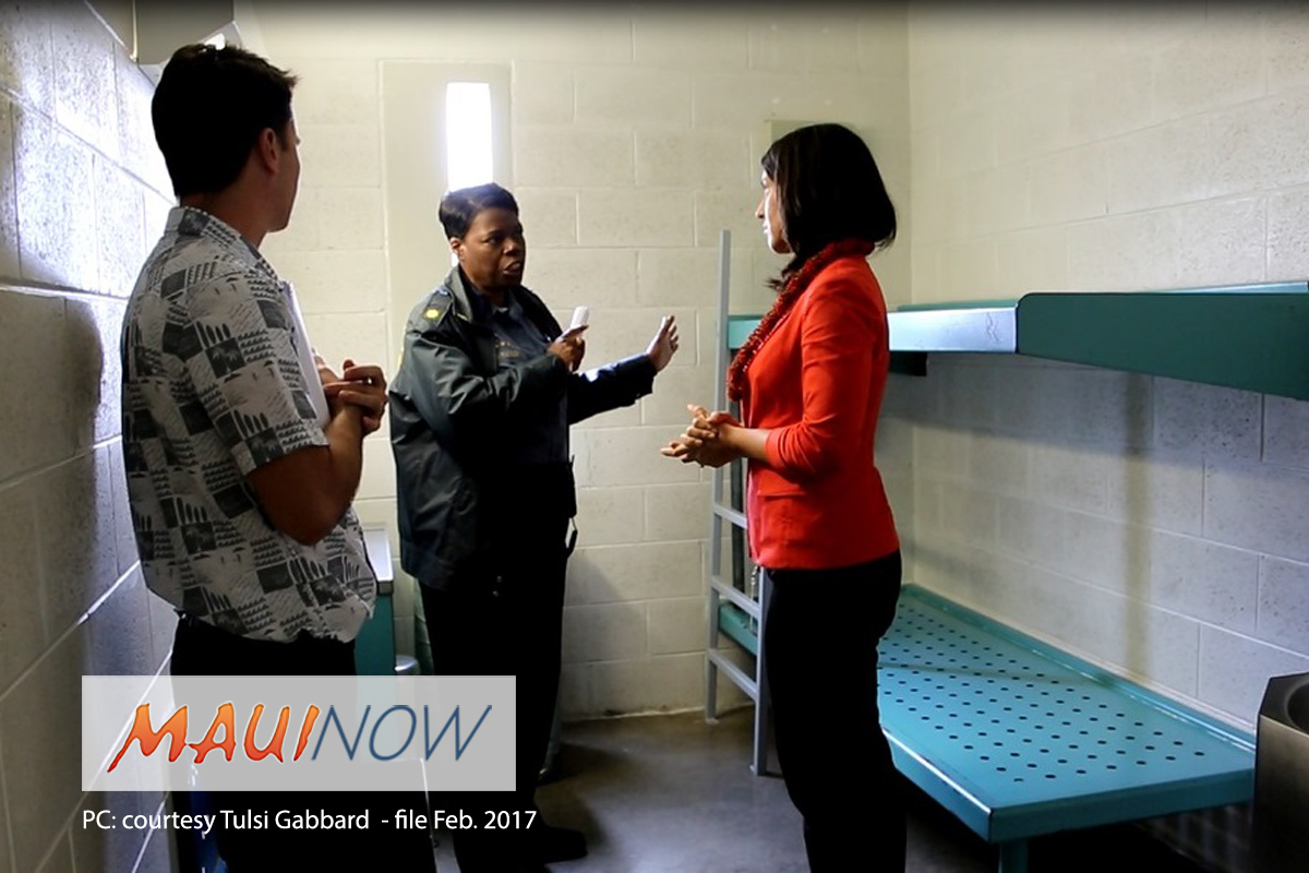 Rep. Gabbard Advocates for Criminal Justice Reform