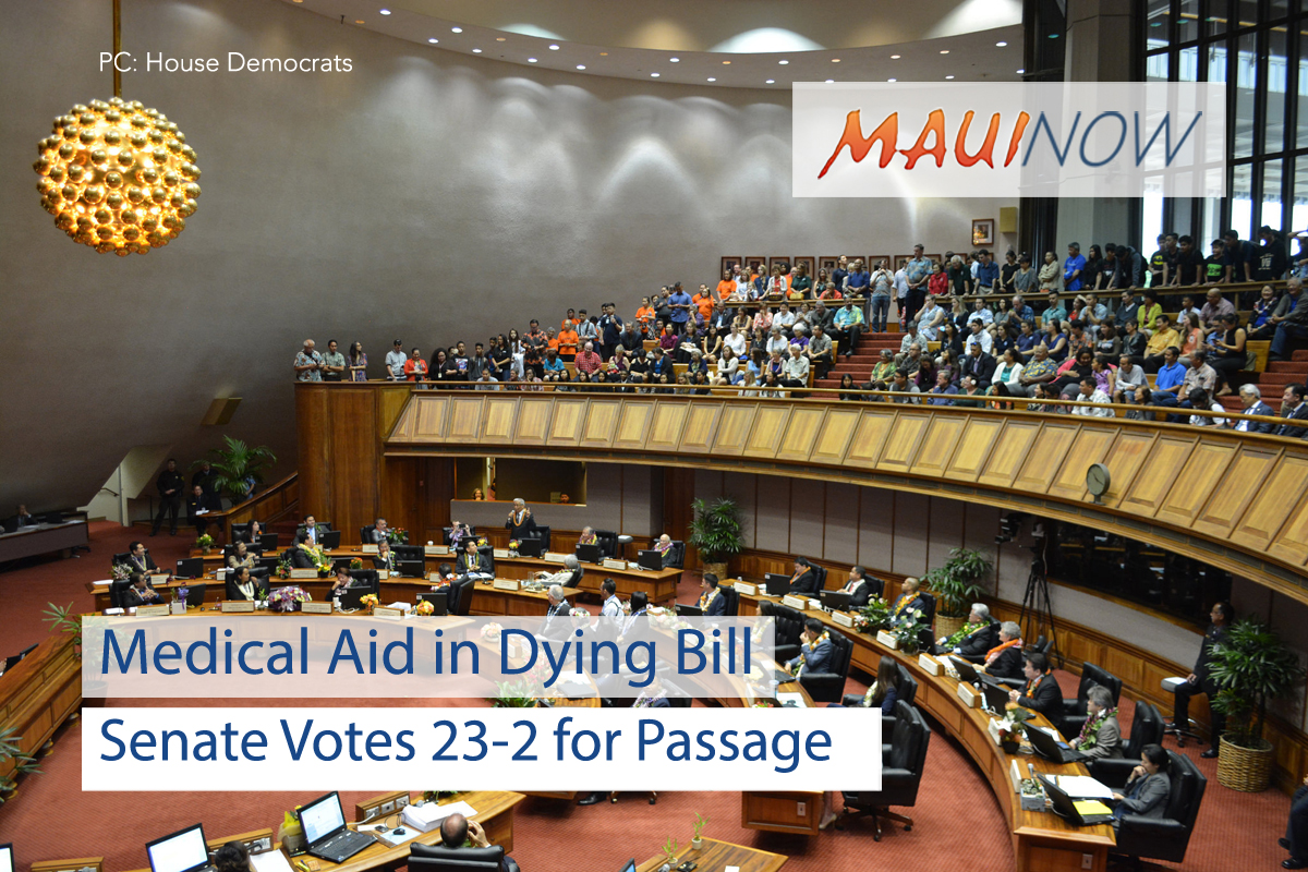 Medical Aid in Dying Bill Passes Out of Senate