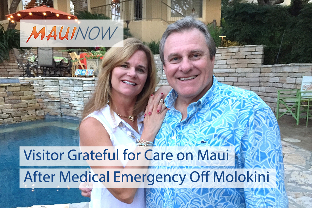 Visitor Grateful for Care After Medical Emergency Off Molokini