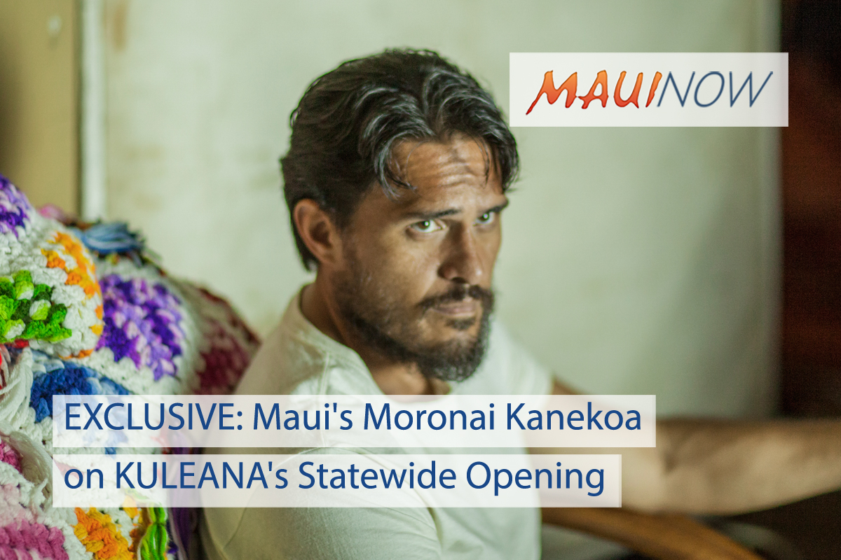 EXCLUSIVE Interview with 'KULEANA' Star, Maui's Moronai Kanekoa