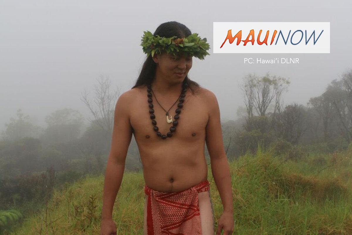 Mt. Ka'ala Chant Gifted at Natural Area Reserve