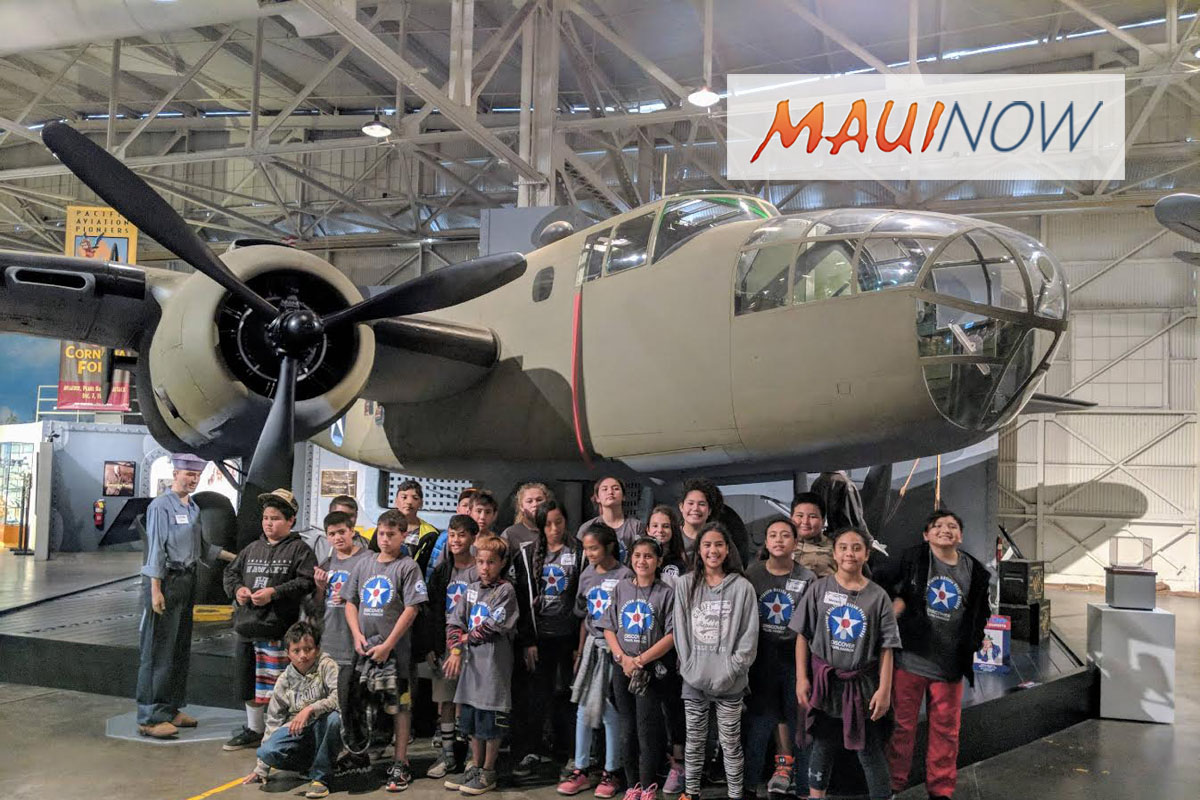 Moloka'i Students Learn History and STEM at Pearl Harbor