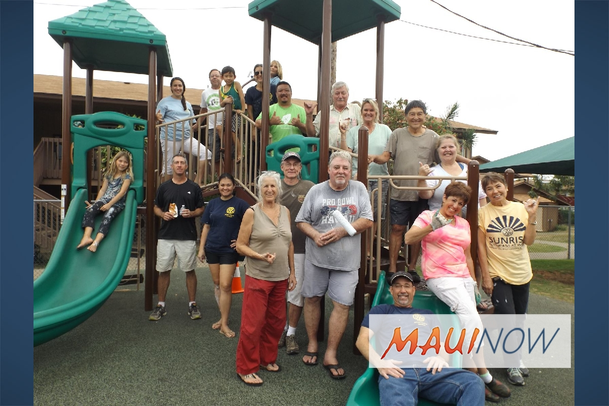 Rotary Club of Kahului Benefits MEO's Head Start Program