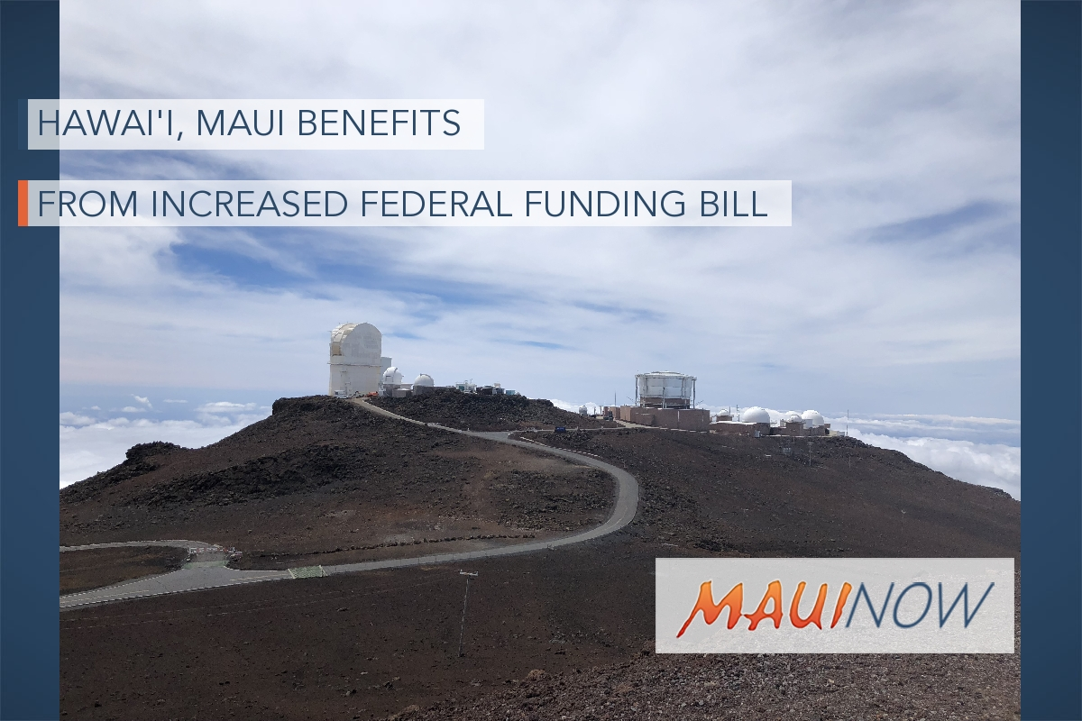 Hawai'i, Maui Benefits from Increased Federal Funding Bill