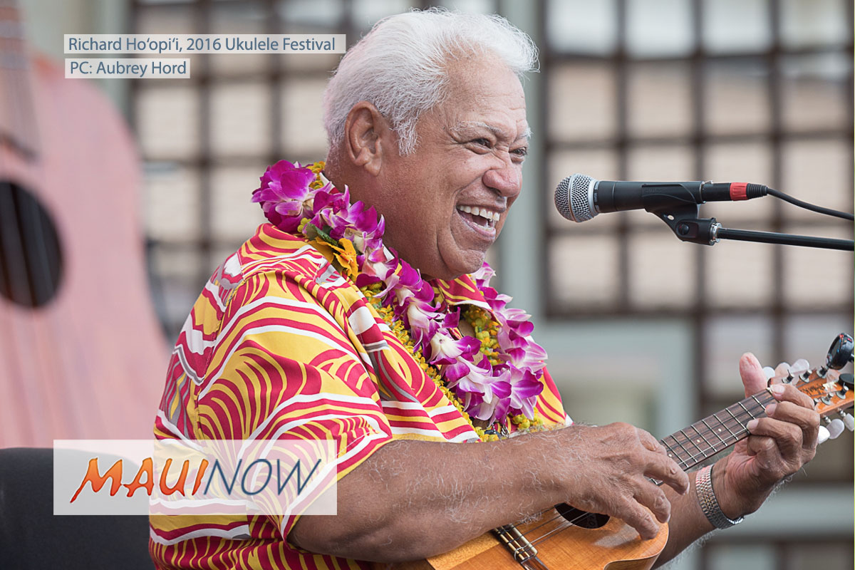 Maui Mourns the Loss of Beloved Uncle Richard Ho'opi'i