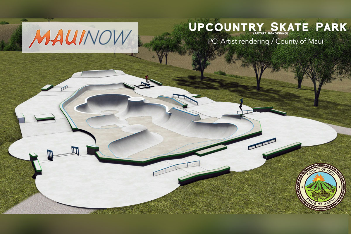 Upcountry Skate Park Grand Opening, Dec. 27