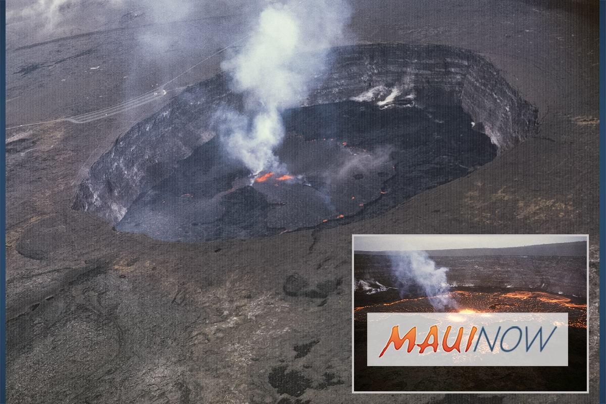 Is the Current Summit Eruption a Return to Kīlauea Volcano's Past?