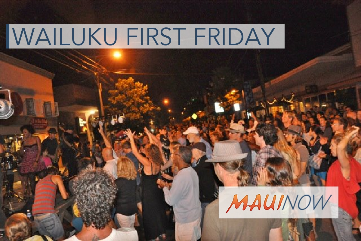 Celebrate Spring at Wailuku First Friday, April 6
