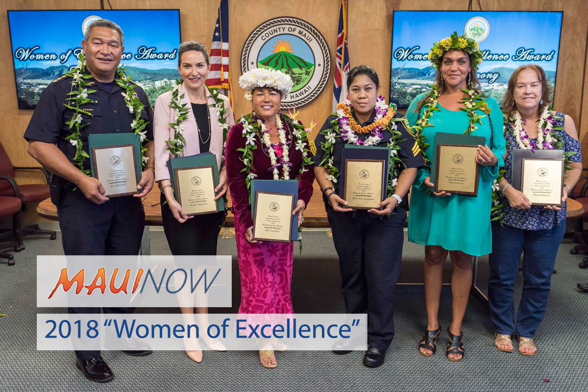 Maui Women Honored with 2018 Excellence Awards