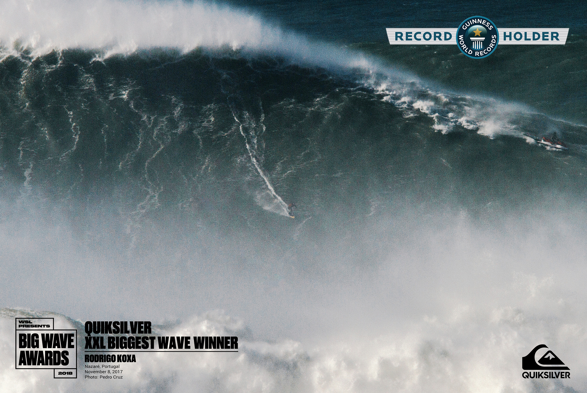80-Footer is Biggest Wave Ever Surfed in History