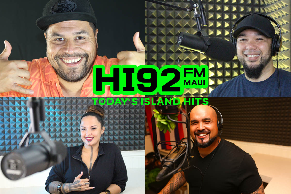 Maui's New HI92 Delivers Today's Island Hits