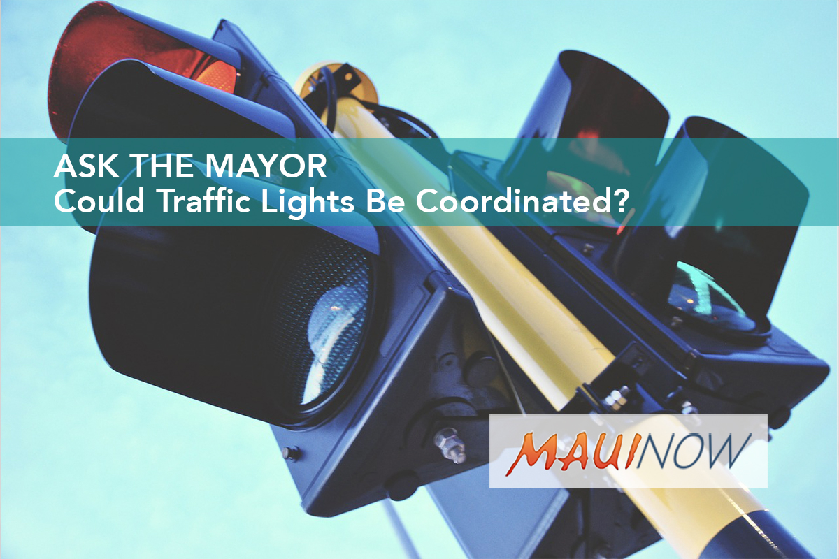 Ask the Mayor: Could Traffic Lights Be Coordinated?