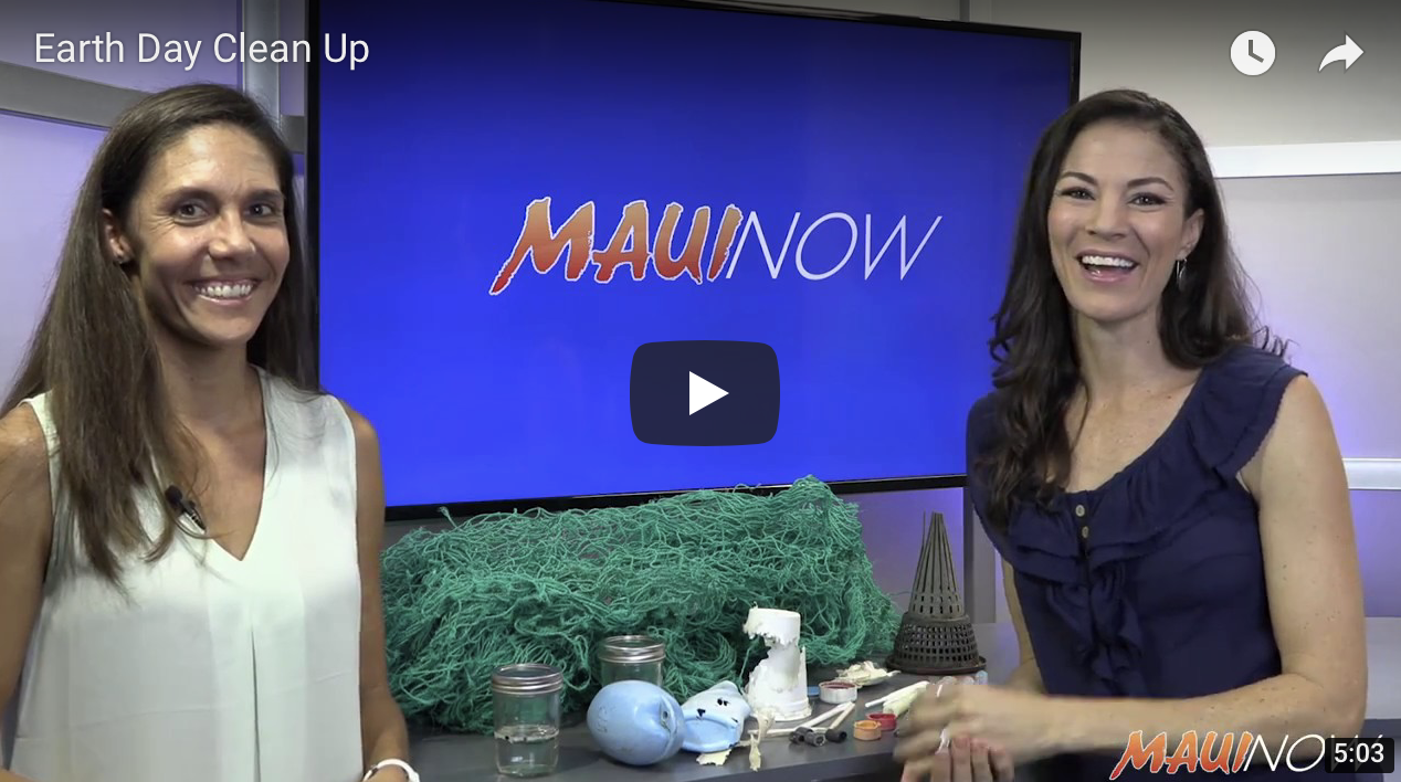 VIDEO: Earth Day Beach Clean-Ups on Maui