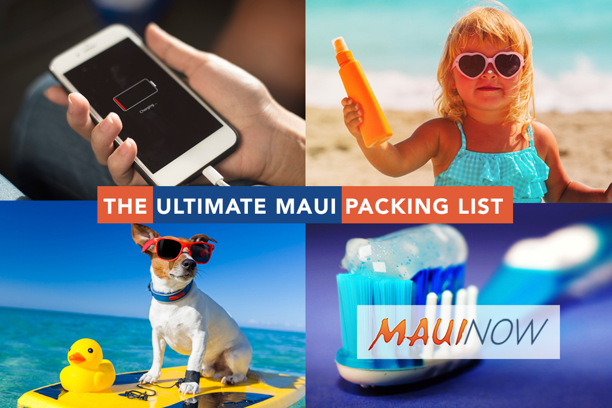 The Ultimate Maui Packing List