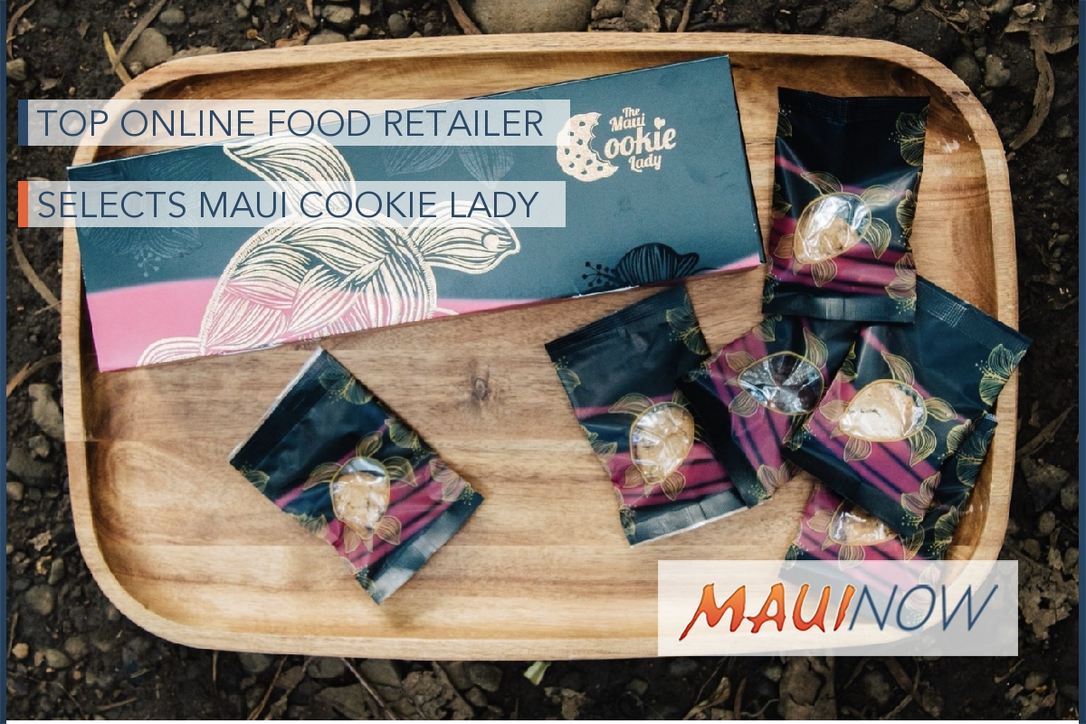 Top Online Food Retailer Selects Maui Cookie Lady