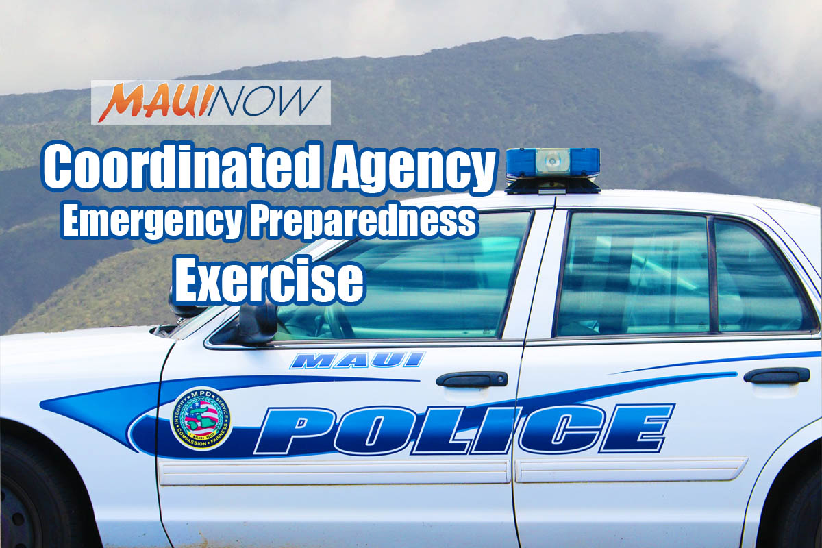 MPD Coordinated Emergency Prep Exercises at Pu'ukukui and Baldwin