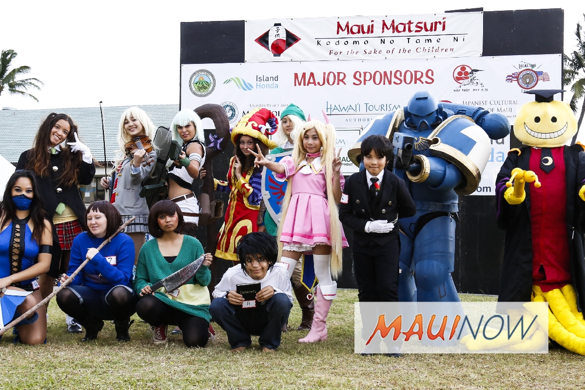 18th Annual Maui Matsuri Festival Begins April 27