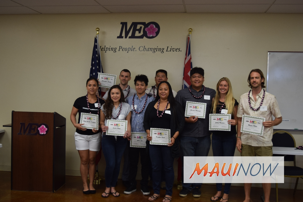 12 Students Graduate from MEO Business Planning Course