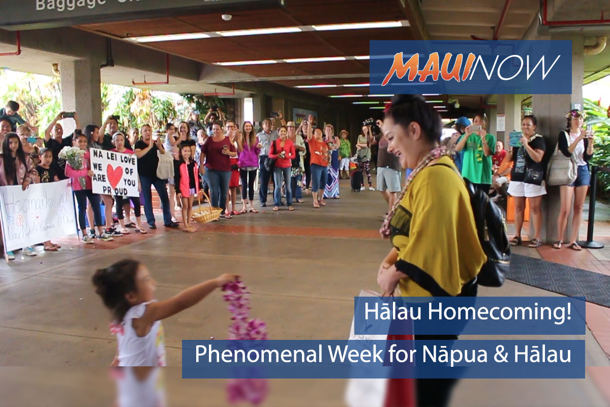 Hālau Homecoming: Dancers Return from Win at Merrie Monarch Hula Festival