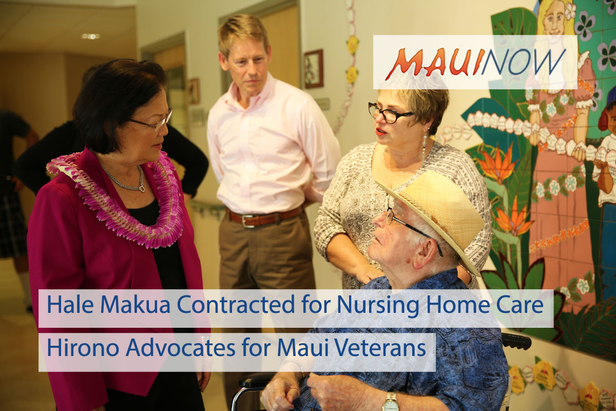Hale Makua Contracted for Nursing Home Care for Maui Veterans