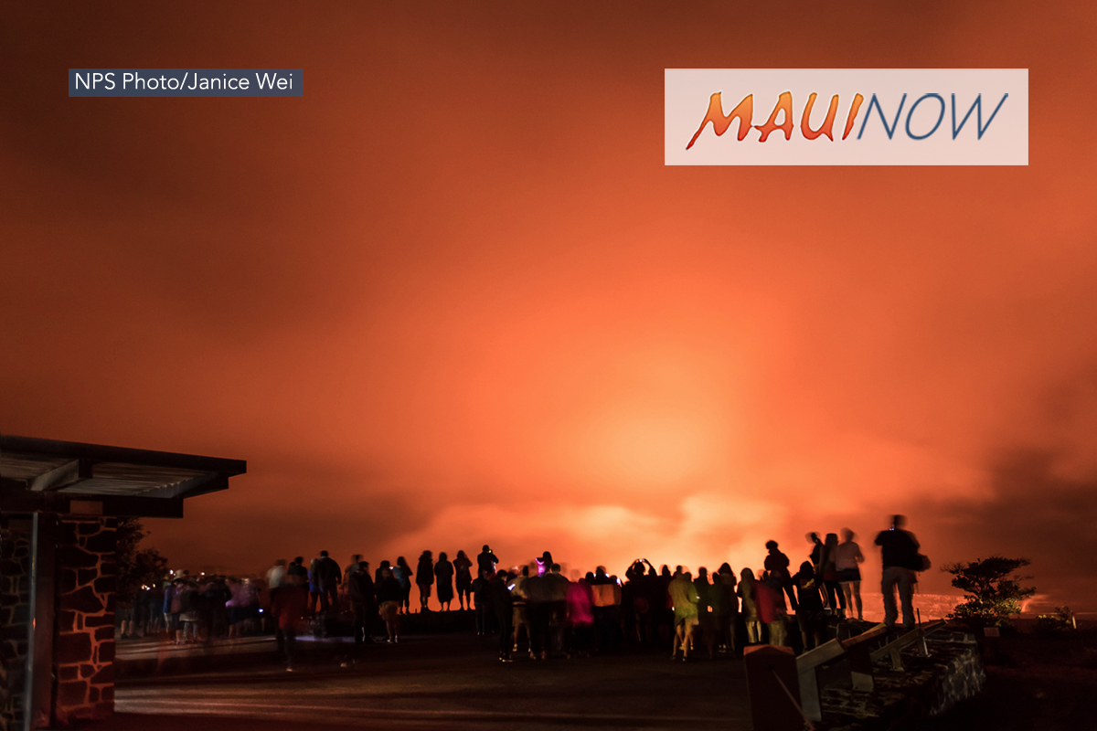 Visitation to Hawai'i Volcanoes Creates $166 Million in Economic Benefits