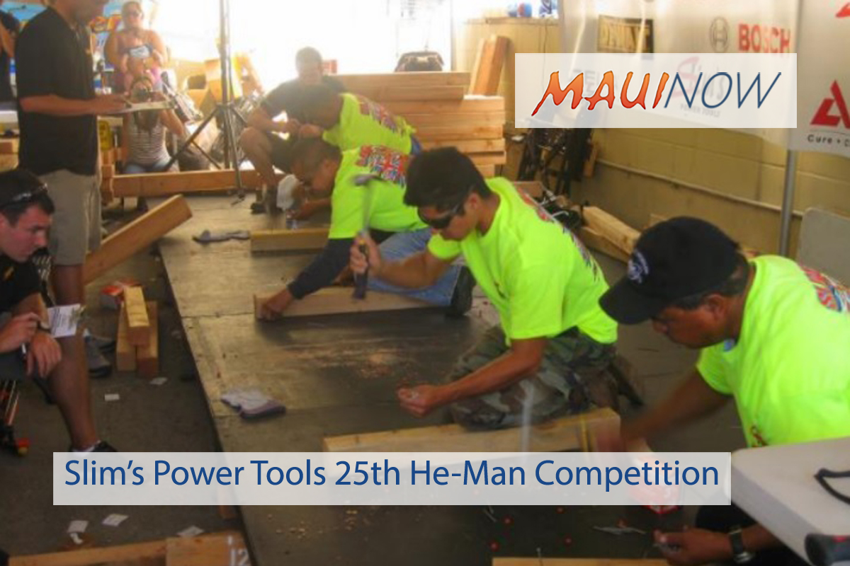 Slim's Power Tools 25th Annual He-Man Competition