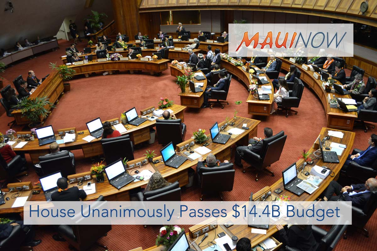State House Unanimously Passes $14.4 Billion Budget