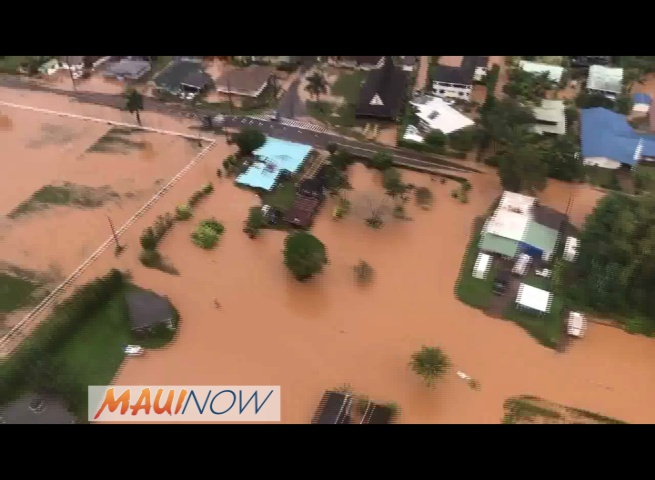 VIDEO: Kaua'i Relief Efforts Continue Following Weekend Floods
