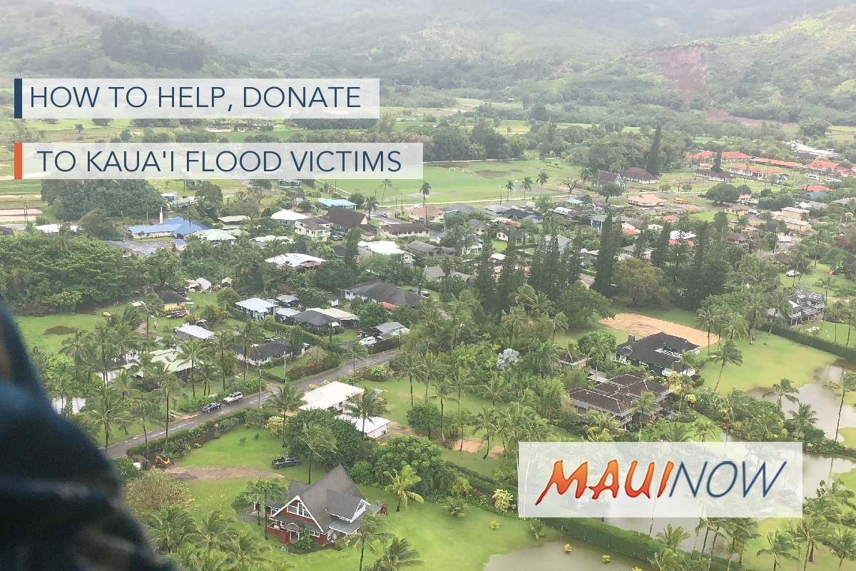 How to Help, Donate to Kaua'i Flood Victims