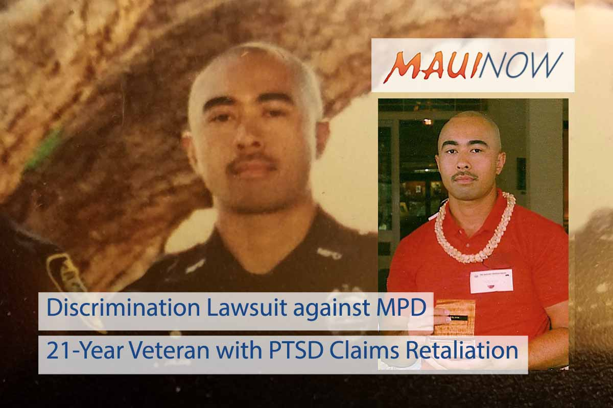 Maui Police Officer with PTSD Files Discrimination Lawsuit