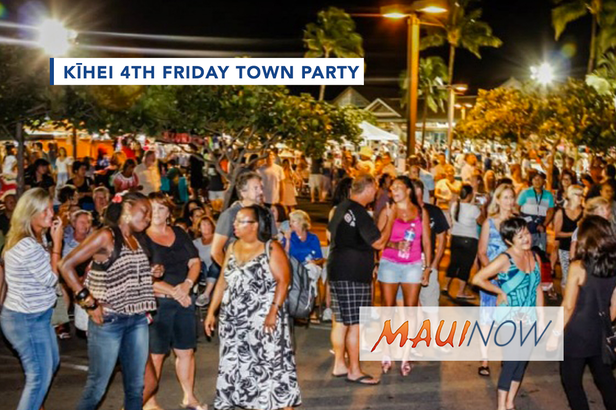Kīhei 4th Friday Town Party, April 27