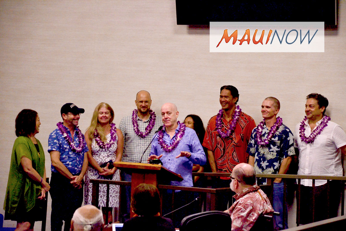 Cast and Crew of 'KULEANA' Honored with Maui Council Resolution