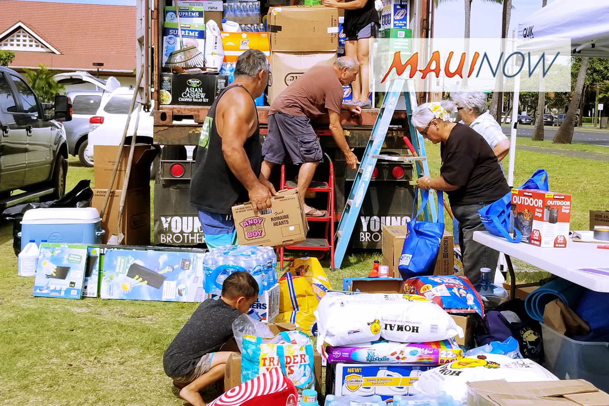 Maui's Mālama Kaua'i Collects 2,000+ Items for Flood Relief