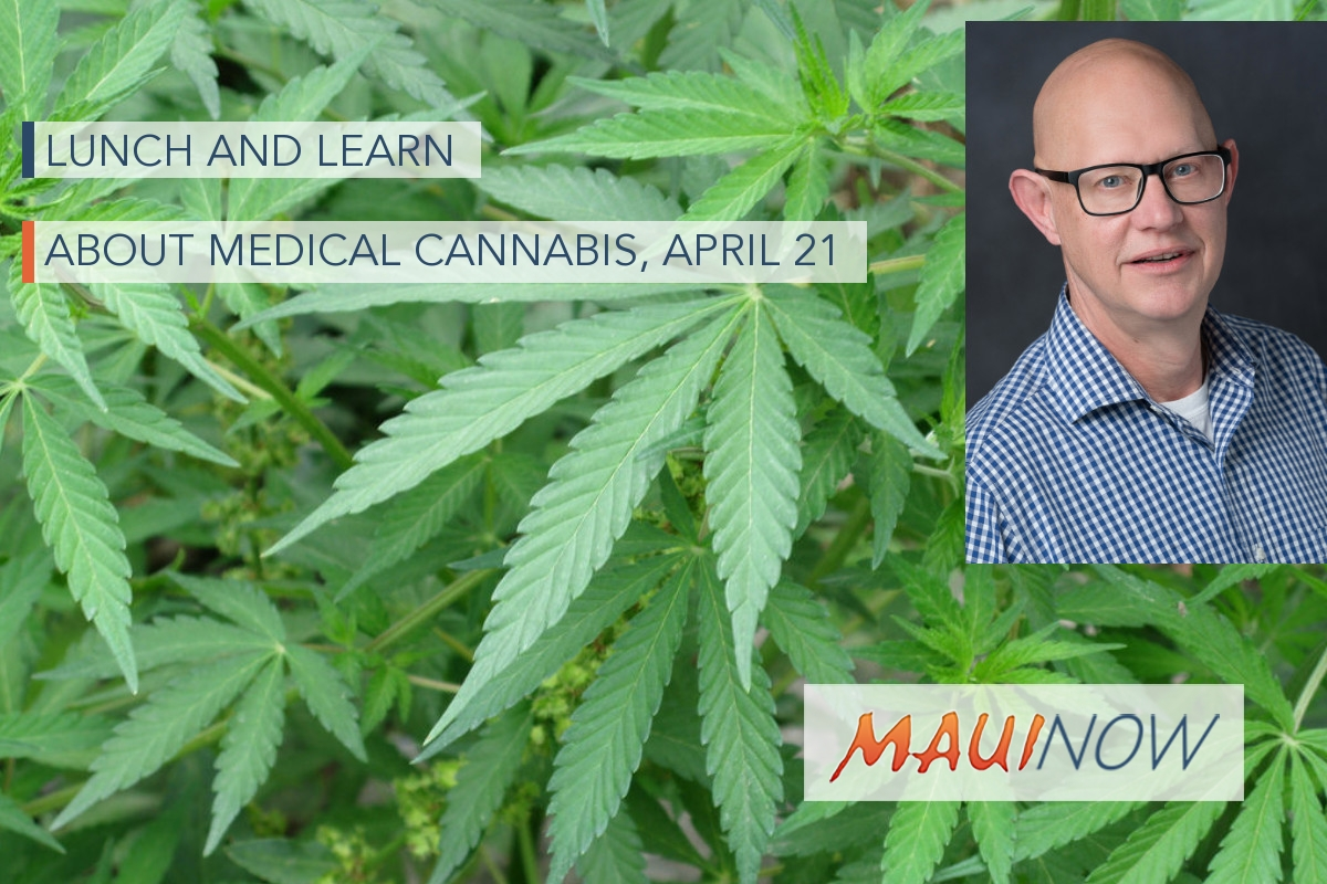 Lunch and Learn About Medical Cannabis with Researcher, April 21