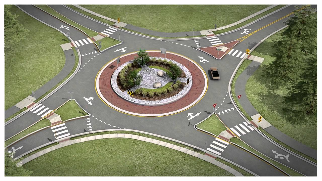 roundabout laws and safety in Texas