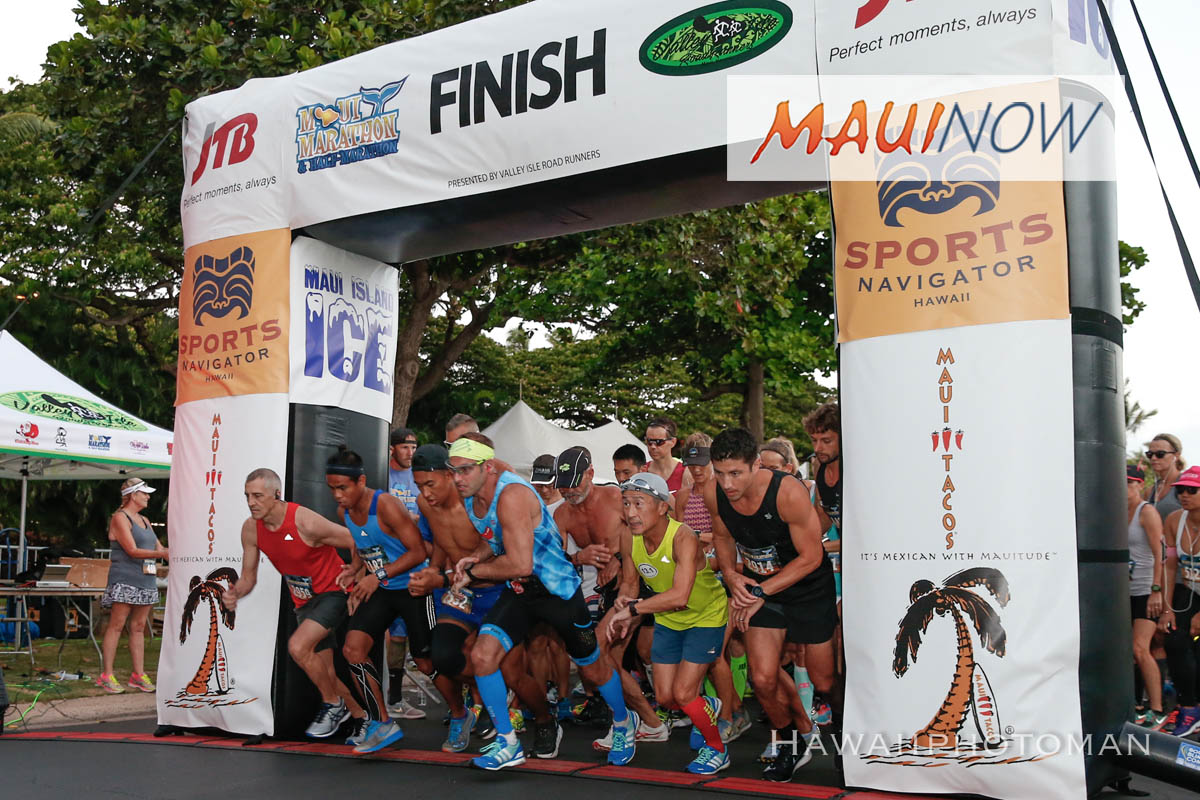 The 49th Maui Marathon is Just Around the Corner