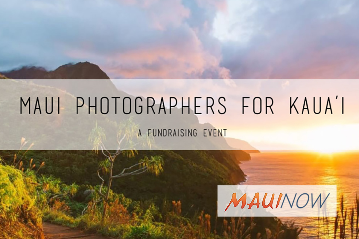 Maui Photographers for Kaua'i Launch Mini-Photo Session Fundraiser