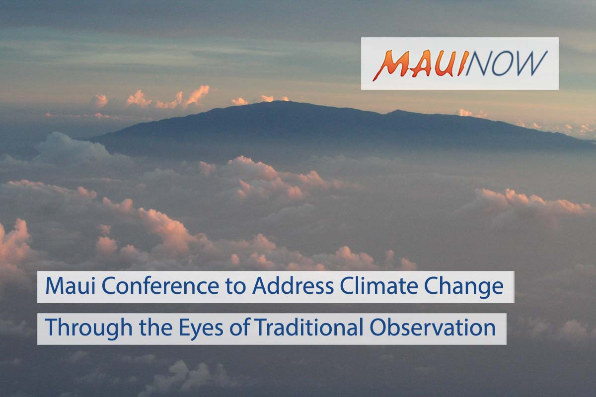 Maui Conference Uses Traditional Knowledge in Response to Climate Change