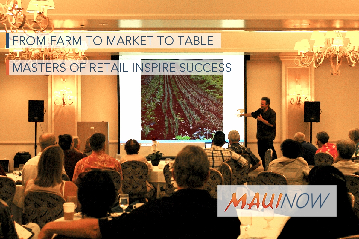 From Farm to Market to Table, Masters of Retail Inspire Success