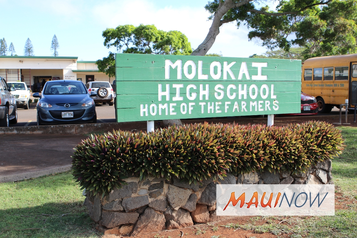 "Molokaʻi High School Wins FAFSA ""Cash for College"" Challenge"