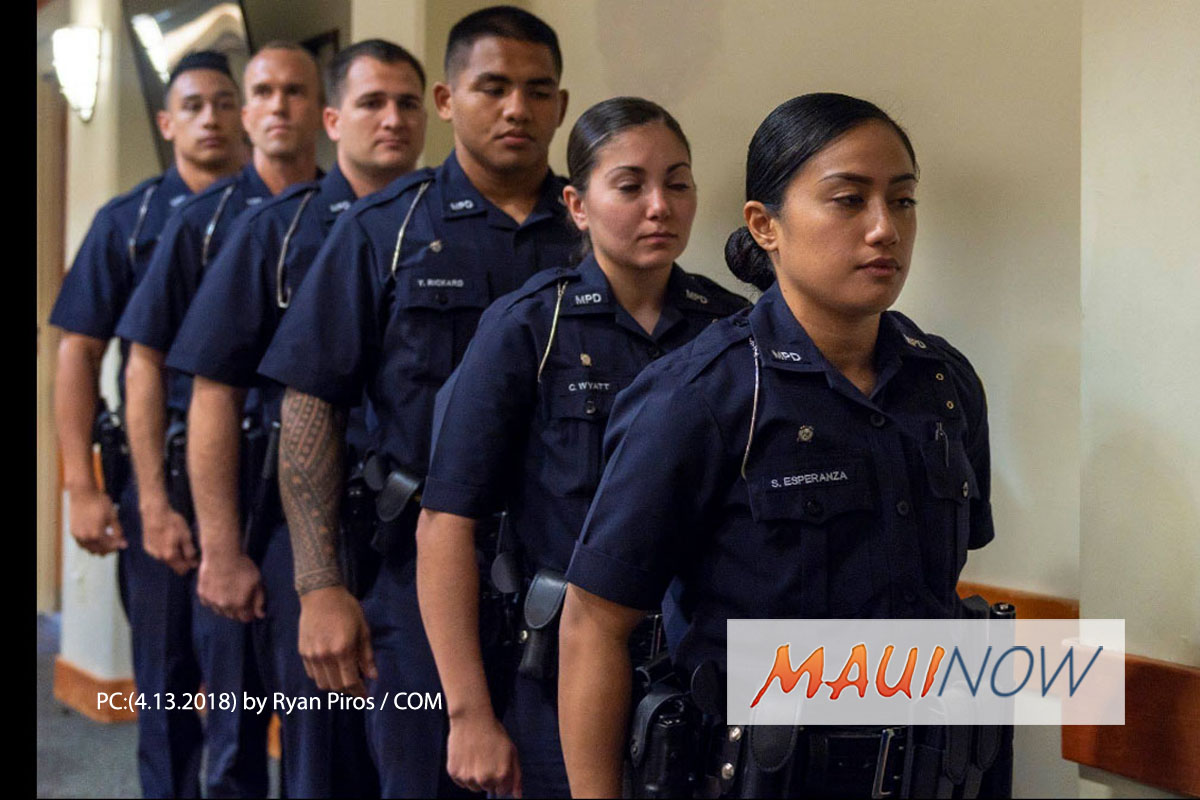 Six Graduate with Maui Police Department's 86th Recruit Class