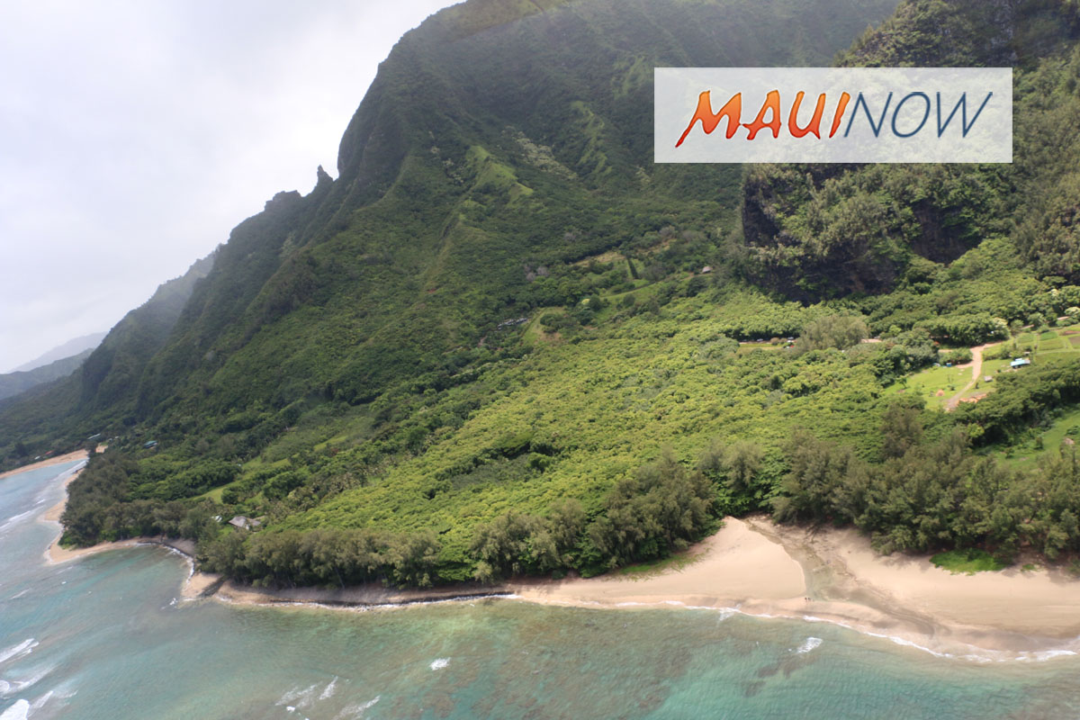 Stranded Campers Airlifted out of Remote Nāpali Coast, Kaua'i