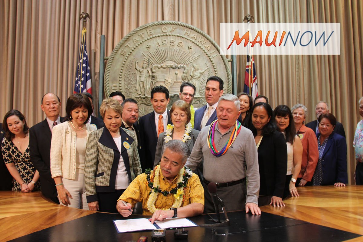 Hawai'i Medical-Aid-In-Dying Law Takes Effect Jan. 1, 2019