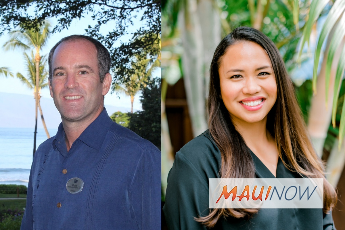 New Hires and Promotions Announced at Hyatt Regency Maui