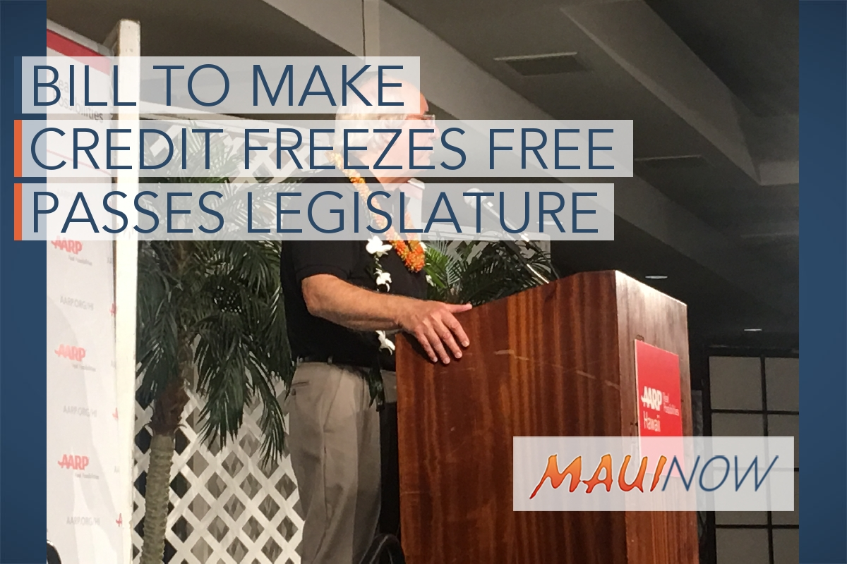 Bill to Make Credit Freezes Free Passes Legislature