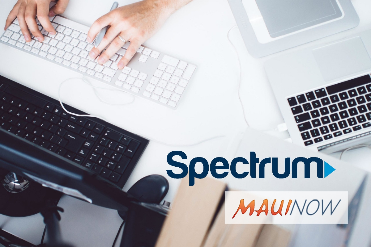 Spectrum Launches More Spectrum Internet Gig for Maui County