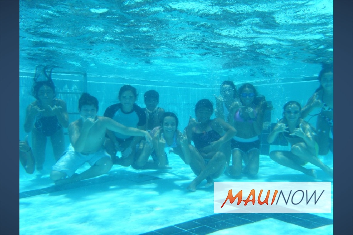 Free Learn to Swim Lessons in West Maui for Kids 4-8