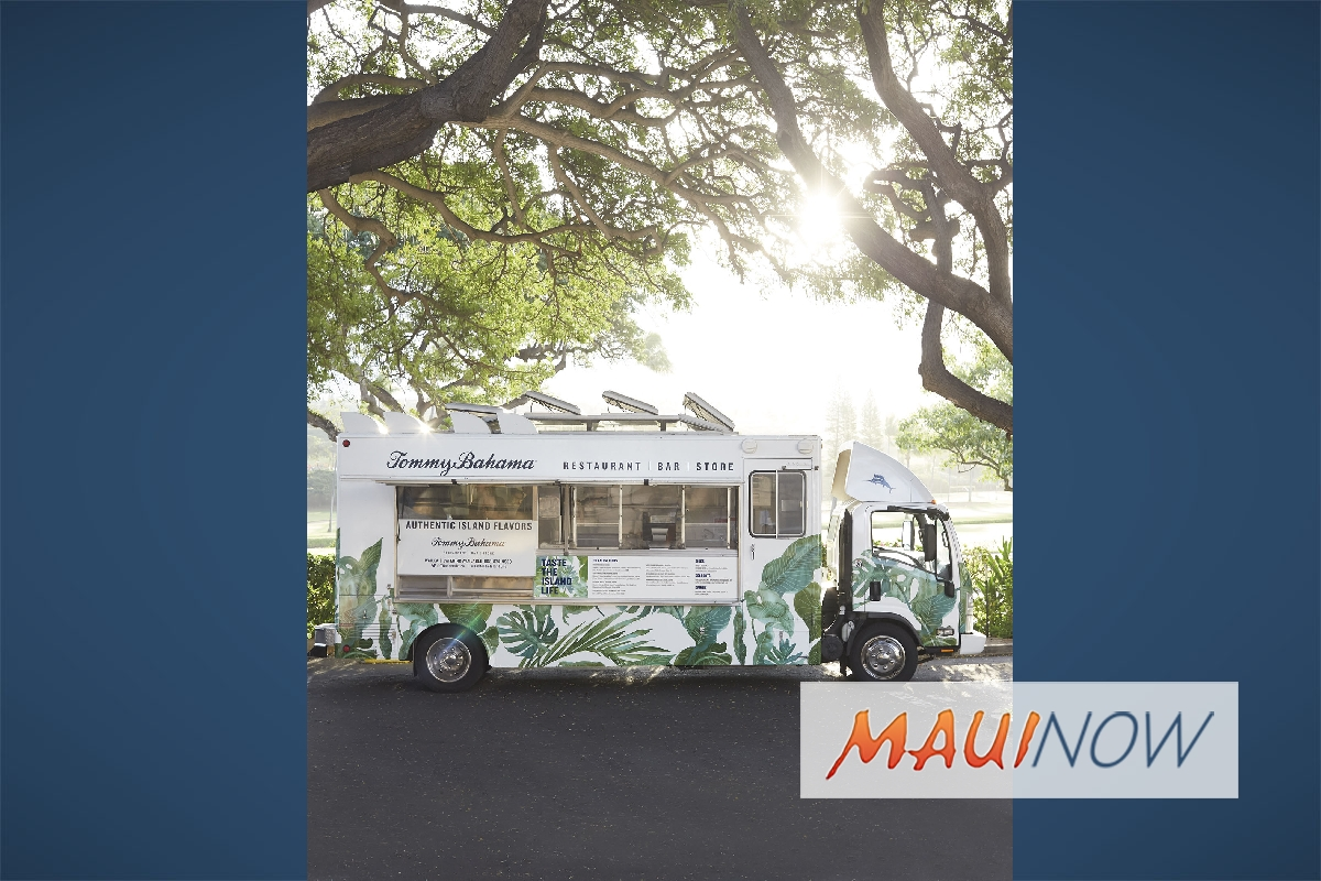 Tommy Bahama Launches Food Truck on Maui